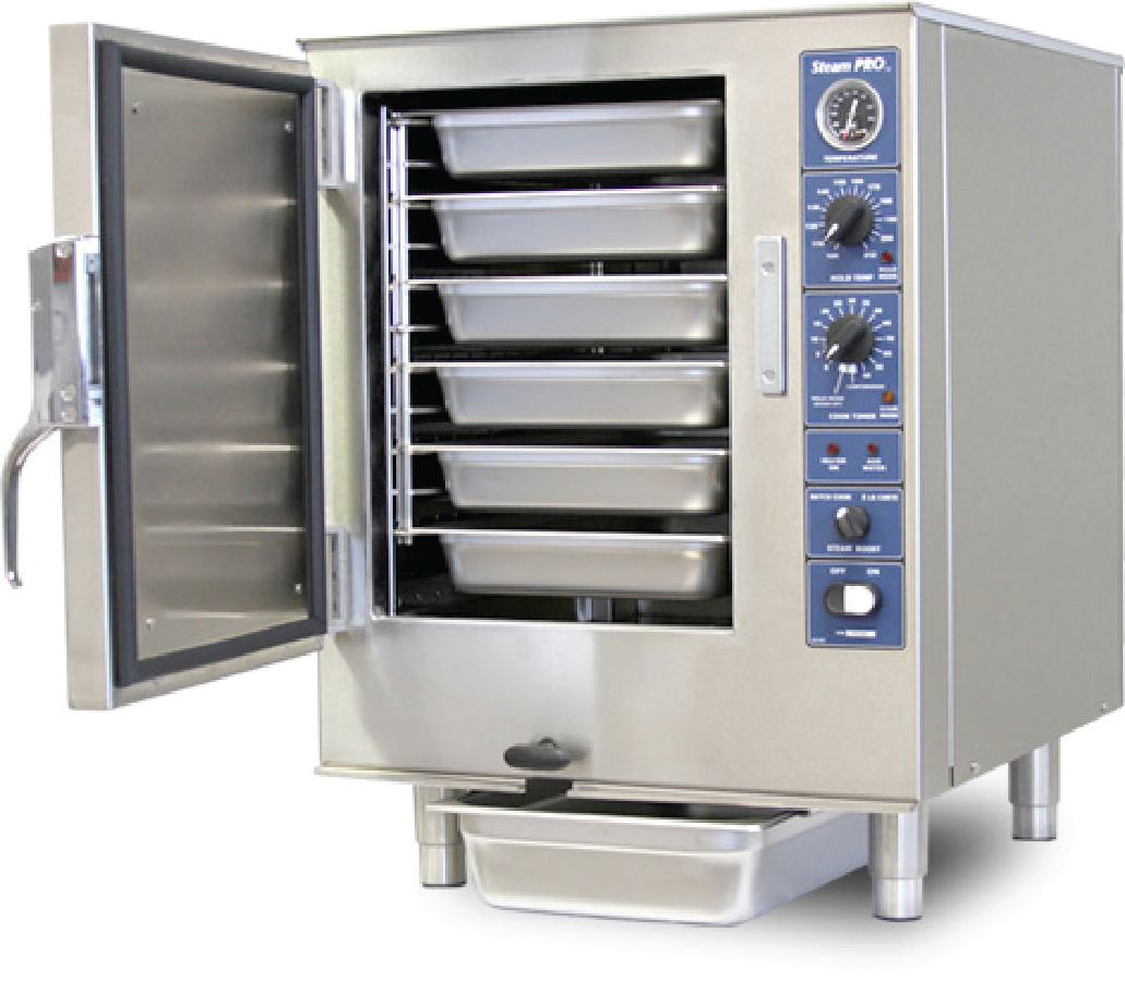 Connectionless Steamer Design ~ Special focus cooking transport equipment catersource