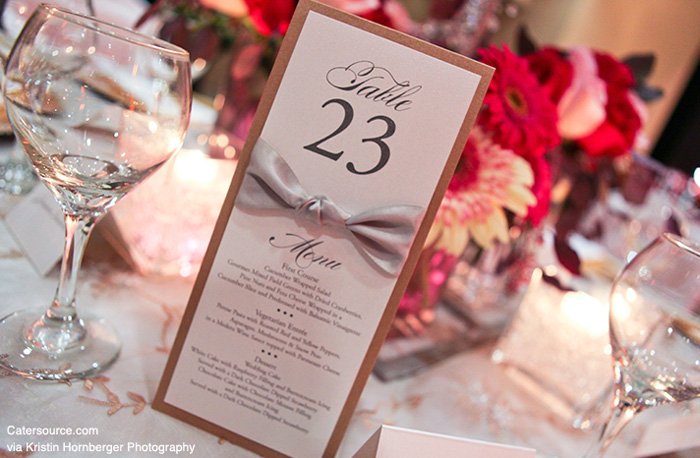 whereas others incorporate the numbers into the centerpieces and dcor elements
